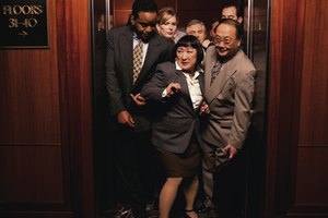 The Etiquette for Stairs & the Elevator