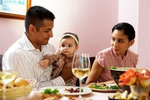 A nursing mother can safely drink an occasional glass of wine with dinner, HealthyChildren.org states.