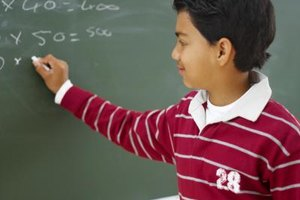 Many students start working with exponents in junior high school.