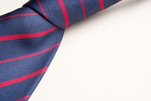 The Prophet's prohibition of men's silk clothing can create problems for neckties.