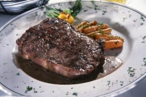 Steak cooked to perfection is a gastronomic feast.