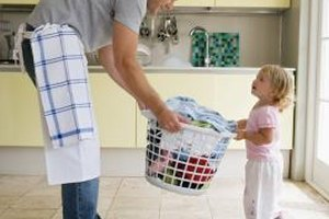 Household chores provide a great opportunity for discussion.