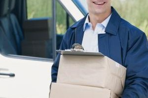 Delivery drivers are qualified package delivery experts.