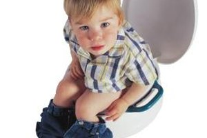 Learning to sit on the potty can take longer for autistic children.