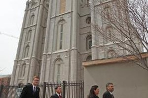 Mormons who receive disfellowship cannot enter the temple.