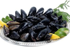 Fresh mussels have a tender and delicate sweetness.