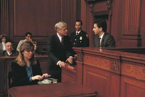 In some courts, the judicial assistant swears in witnesses.