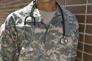 Candidates wishing to become ranked doctors qualify for the Army's direct-commission program.