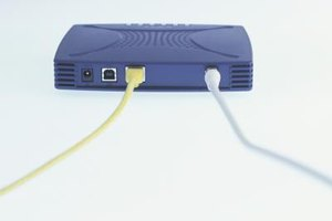 Attach a network Ethernet cable between the DVR and router.