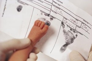 Some birth certificates include foot or hand prints.