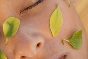 Beauty therapists use natural methods to heal the skin.