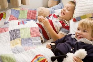 Toddler quilts can vary in size but are smaller than twin size.