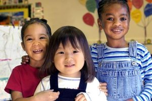 Kindergarten students can learn about many cultures.