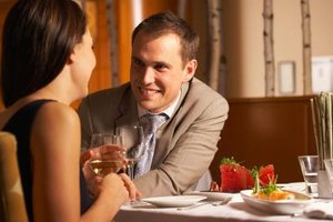 An honest discussion after dinner may be a good time to talk.