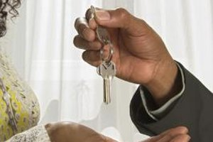 The keys exchanging hands is the last step to closing a home sale.