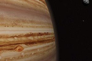 Jupiter may look solid, but it's almost all atmosphere.