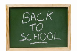 How to Set Goals for Back to School Time