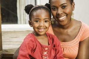 Black children are often raised by single mothers.