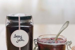 Half pints are perfect vessels for jams and jellies.