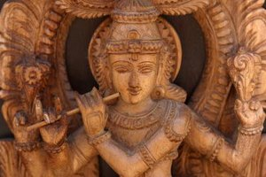 Hindu sculptures of deities represent an embodiment of Brahman.