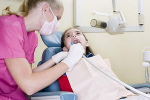 Dental hygienists work in dentists' offices with other dental professionals.