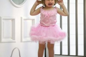 Toddlers often express their negative feelings through tantrums.