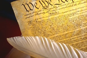 Constitution Activities for Eighth-Grade Students