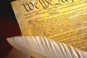 Activities to teach the Constitution include historical context and the articles and amendments.