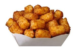 Use tater tots as an ingredient in breakfast recipes.