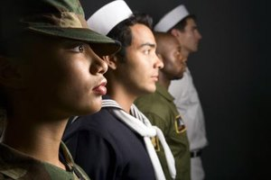 The U.S. Armed Forces consist of the Army, Navy, Marine Corps, Air Force and Coast Guard.