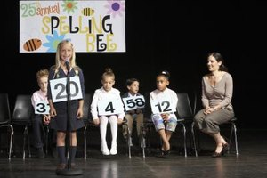 Spelling bees are one example of a cocurricular activity in primary schools.