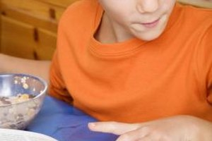 Healthy foods can improve your child's concentration.