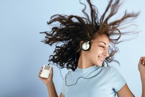 Teenagers can spend alot of their time listening to music.