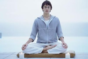 Teens who meditate often experience reduced levels of stress.