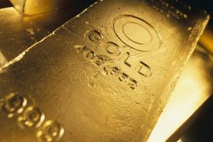 Prices for precious metals such as gold are established in futures markets.