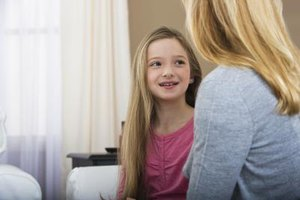Talk to your child, helping her to hone her listening skills.
