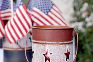 Flags and a preschool parade can help children understand the meaning of Memorial Day.