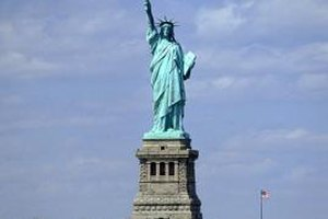 Help your child build a mini Lady Liberty for school or for herself.
