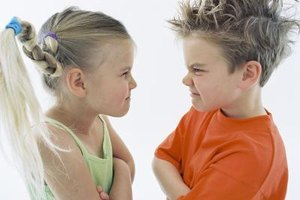 Help your child learn to work out her problems face to face.
