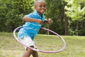 Provide many experiences for your child to help develop his physical development.