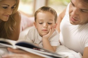 Family reading time encourages a love of books and develops literacy skills.