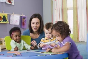 Day care teachers play an important role in the lives of young children.
