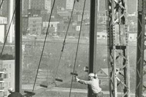 Despite modern safety gear, ironworkers often work under dangerous conditions.