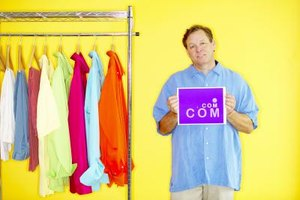 Selling clothes online can increase your customer base.