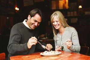 Enjoy Burlington's upscale restaurants with your date.