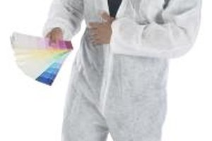 Crime scene cleaners wear special protective gear.
