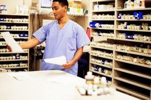 Many pharmacy technicians handle recordkeeping for their employers.