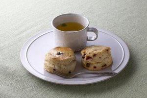 Scones would be flat and dense without a leavener such as cream of tartar.