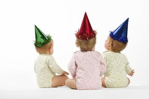 Tailor the menu plan for a first birthday party to suit the tastes of the guest of honor.