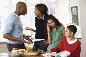 Family feuds cause stress on the whole family.